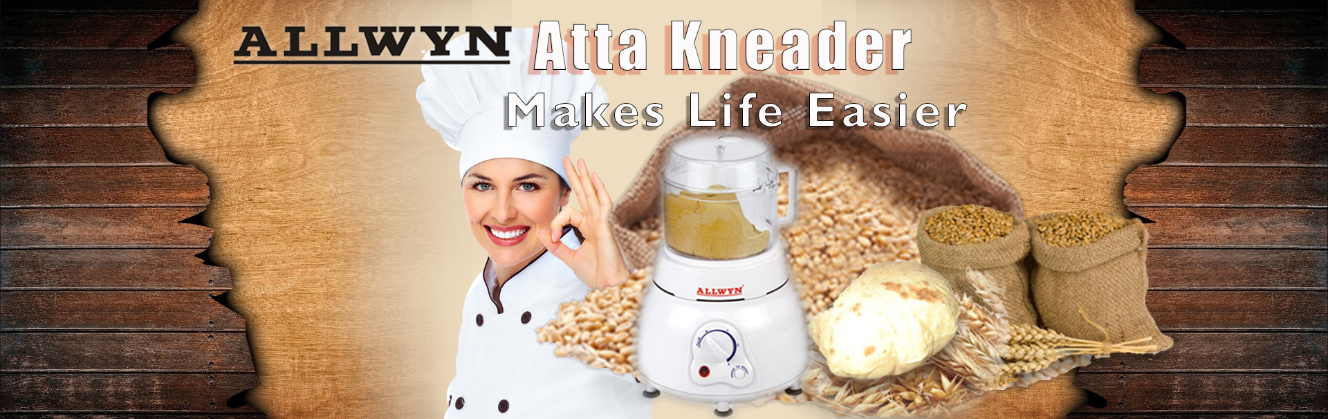 Atta Kneading Machine